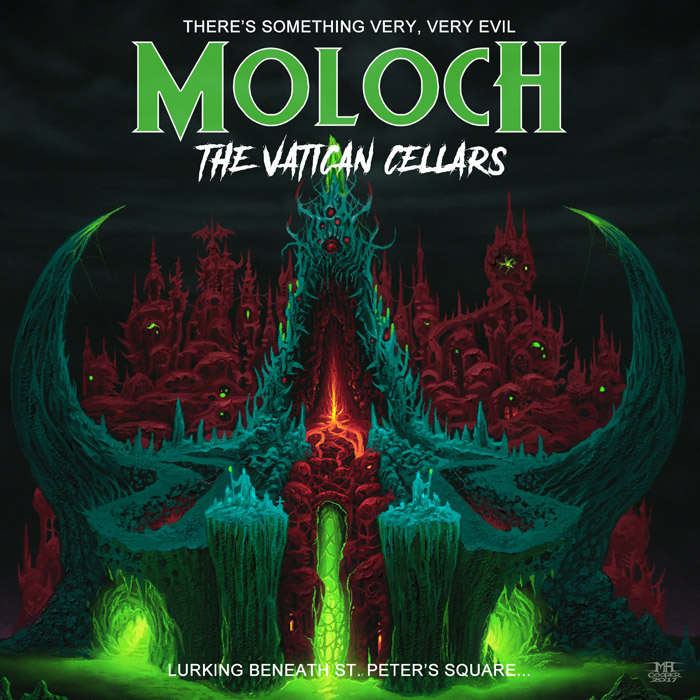 MOLOCH - The Vatican Cellars